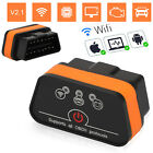 Bluetoothwifi Elm327 Obd2 Diagnostic Scanner Tool Code Reader For Android Ios