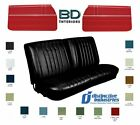 1968 Chevelle Convertible With Bench Seats Upholstery Covers Door Panel Set