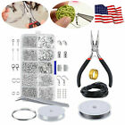 Jewelry Making Kit Wire Anklets Sterling Beading Repair Tools Craft Supplies Diy