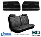 1970 Chevelle Front Bench Seat Upholstery Covers Front Door Panels Any Color