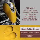 Absgear Shift Cover Trim Suede Leather For Porsche Macan Panamera Boxter 719 911