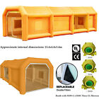 39x16x13ft Inflatable Spray Booth Paint Tent Mobile Portable Car Workstation Us