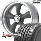 20x8-20x10 American Racing Vn215 Torq Thrust Wheels Wtires For 5-lug C10 Truck