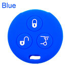 Fit For Mercedes Benz Smart 3-button Auto Car Key Cover Fob Shell Case Silicone