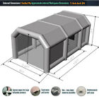 Inflatable Paint Spray Booth Portable Paint Tent Car Auto Garage Outdoor Air Flo