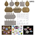 Epoxy Silicone Resin Molds Diy Casting Craft Pendant Making Handmade Mould Kits