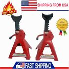 346 Tons Jack Stands 4 Legged Steel Base Heavy Duty For Car Truck Auto 2 Pc Us