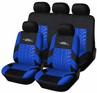 Autoyouth Full Set Of Car Seat Cover Car Seat Cover Tire Tracks Car Seat