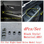 Accessories Window Lift Button Frame Cover Trim For Toyota Venza Harrier 2021