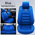Universal Car Suv 5-seat Pu Leather 9pc Seat Cover For Toyota Camry Corolla Rav4
