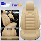 Us Car Suv Standard 5-seat Pu Leather Seat Covers Cushion Frontrear Universal