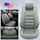 Us Auto Car 5-seat Pu Leather Seat Covers Cushion For Toyota Camry Corolla Rav4