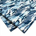 100 Cotton Poplin Camouflage Camo Print Sewing Fabric One Yard Pack Us Stock