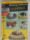 Simplicity Home Decor Craft Window Accessories Dog Bed Patterns Uncut