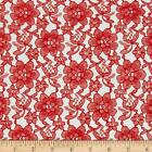 Raschel Lace Fabric By The Yard 100 Polyester 60 W French Floral Free Shipping