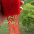 Hot Embroidery Net Bilateral Lace Trims Gorgeous Handicrafts Ribbon 10 Yards