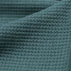 Solid Thermal Stretch Waffle Weave Fabric By The Yard