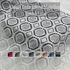 Cassie Embroidered Medallion Nylon Stretch Lace Fabric By The Yard - Style 0673
