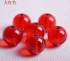 Wholesale Free Shipping 6--16mm Crystal Round Smooth Bead Glass Smooth Bead