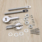 Universal Alloy Mount Bonnet Hood Pin Pins Lock Latch Kit Racing Car Motorcycle