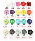 10-25mm Crafts Sewing 4-hole Flat Resin Button For Coat Shirts Childrens Diy
