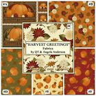 Q Treasures Harvest Greetings Thanksgiving Fall Fabrics Collection Choose