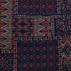 Multicolor Aztec Prints On Rayon Spandex Jersey Knit Fabric By The Yard Swatch