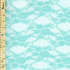 Daffodil Pattern Nylon Spandex Stretch Lace Fabric By The Yard Or Sample Swatch