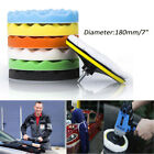8 7 6 5 Polishing Sponge Waxing Buffing Pad Compound Auto Car Polisher Drill