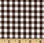 Gingham 14 Checkered Poly Cotton Fabric Prints - 4445 Wide - Sold By The Yard