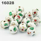 Multi Size Vintage Cloisonne Enamel Beads Jewelry Crafts Bracelet Charms Gifts