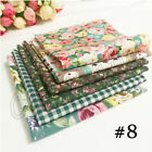 7pcslot Quilting Fabric Floral Cotton Cloth Diy Craft Sewing Handmade Accessory
