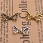 50pcs Tibetan Silver Gold Bronze Angel Wings Spacer Charms Beads B57