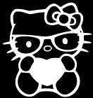Hello Kitty Decal Heart Truck Car Vinyl Window Sticker For 10 Colors