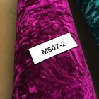 Creased Ice Velvet One Way Stretch Dress Fabric 58 M607 Mtex