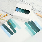 5pcs Washi Tape Solid Rainbow Color Diy Paper Adhesive Sticker Decorative