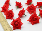100pcs Small Silk Rose Bud Heads Artificial Fake Flower Wedding Party Decoration