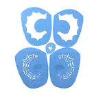 Plastic Reusable Face Painting Stencils Tattoo Template Fancy Dress Makeup