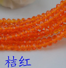 Wholesale 50100pcs 10mm Glass Crystal Faceted Rondelle Charm Spaced Beads