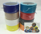 1-6 Rolls 2x20yd Random Colored Duct Tape Black Red Yellow Blue Factory 2nds A