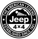 Jeep Decal Oscar Mike Us Wrangler Star Stickers Decals