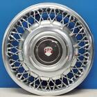 Late 1986-1988 Oldsmobile 98 4098b 14 Wire Hubcap Wheel Cover 25527327