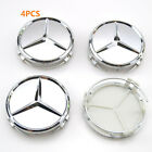 475mm 2.95 Wheel Center Caps Emblem Logo Rim Hub Caps For Mercedes Benz