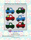 Pickup Truck Christmas Ornaments-plastic Canvas Pattern Or Kit