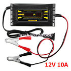 2v 10a6a Auto Fast Smart Lead-acid Gel Battery Charger For Car Motorcycle Lcd