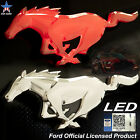 Officially Licensed Ford Led Lighted Mustang Emblem Sticker Accessories Black