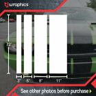 Solid Racing Stripes Vinyl Decal Universal Muscle Car Auto Jdm Different Sizes