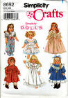 Choice Simplicity Fashion Doll Clothes Barbie 11 18 Craft Sewing Patterns