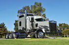 Kenworth 1995-2006 Aerocab W900l Bull Horn Style Chrome Set