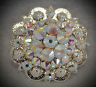 Crystal Berry Concho Handcrafted With Ab Crystal Swarovski Elements